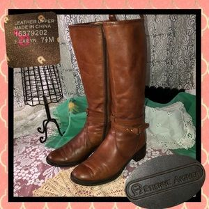 Etienne Aigner Cailyn Riding Boots Size 7.5M